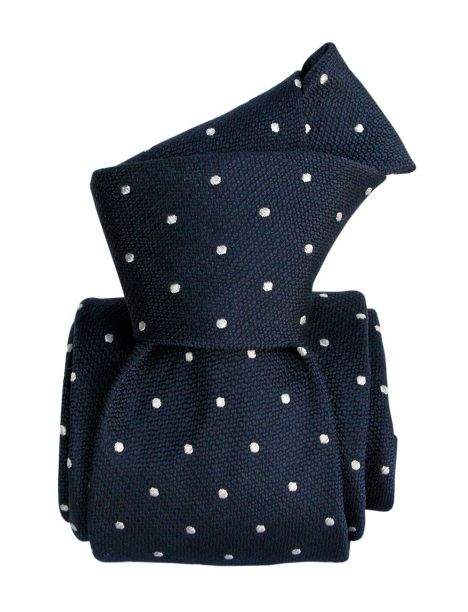 Cravate Segni Disegni LUXE, Faite main, Diano-marina bleu Segni et Disegni Cravates