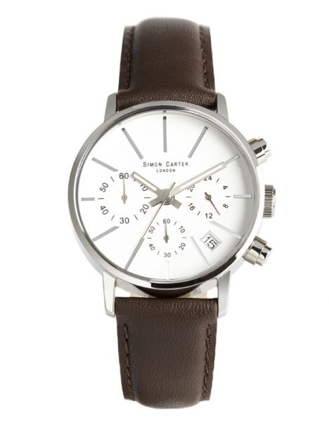 Montre Simon Carter, LT001 White Simon Carter Montres