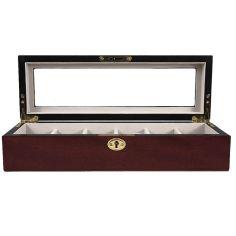 Ecrin Luxe bois 6 montres, Kennett, Cerisier mat Kennett Ecrins