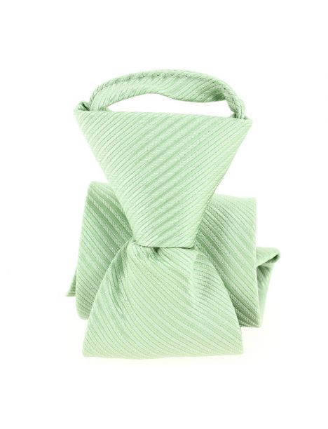 Cravate enfant, Petit Dandy vert Pomme Carré Cravates