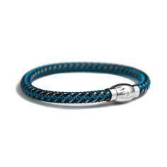 Bracelet, Kennett maille bleu et noir Kennett Bracelets Homme