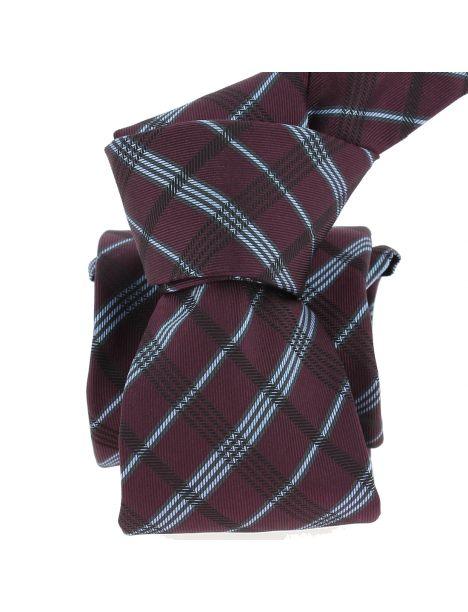 Cravate Segni Disegni LUXE, Faite main, Coventry, prune Segni et Disegni Cravates