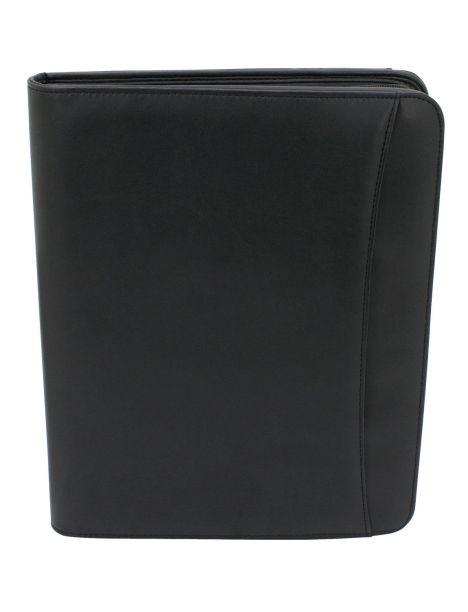 Organiseur, porte documents, à poignées rondes amovible, noir Friedrich 23 Portefeuille Cuir