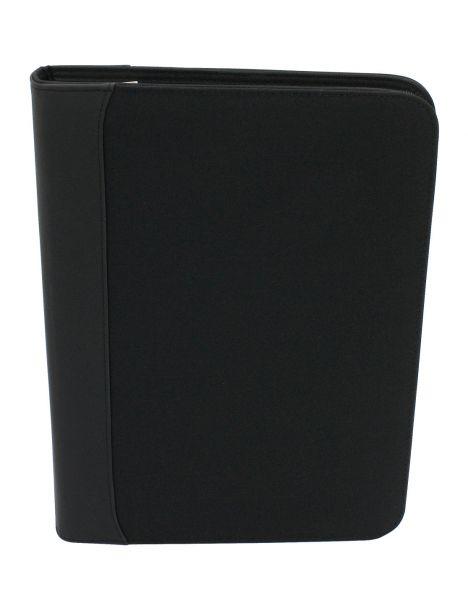 Organiseur, porte documents , calculatrice, noir Friedrich 23 Portefeuille Cuir