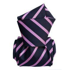 Cravate Classique Segni Disegni, Ravenne rose