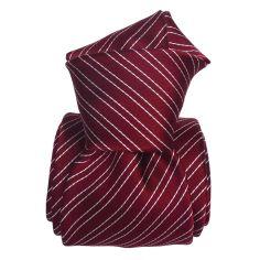 Cravate Classique Segni Disegni, Côme rouge