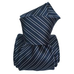Cravate Classique Segni Disegni, Côme marine Segni et Disegni Cravates