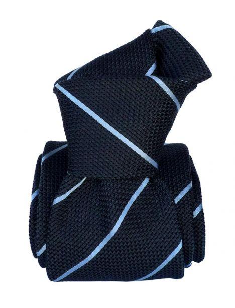 Cravate grenadine de soie, Segni & Disegni, Trévise bleu Segni et Disegni Cravates