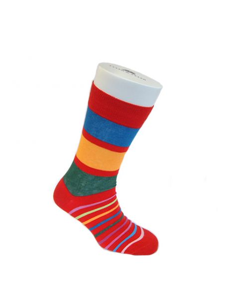 Chaussettes T&T, Stripey Red Tyler & Tyler Chaussettes