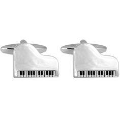 Bouton de Manchette, Grand Piano Cravate Avenue Signature Bouton de manchette