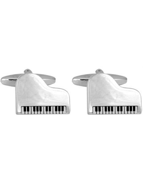 Boutons de manchette, Grand Piano Cravate Avenue Signature Bouton de manchette