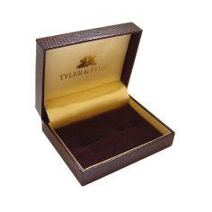 Bouton de manchette Tyler & Tyler, Victorian Wallpapaer-Jasper, BLACK