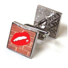 Bouton de manchette Tyler & Tyler, Hot lips, Red Bricks Tyler & Tyler Bouton de manchette