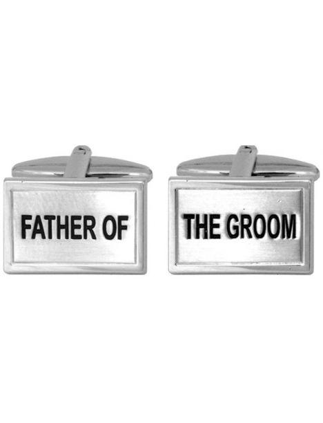 Boutons de manchette, Father of the Groom Cravate Avenue Signature Bouton de manchette