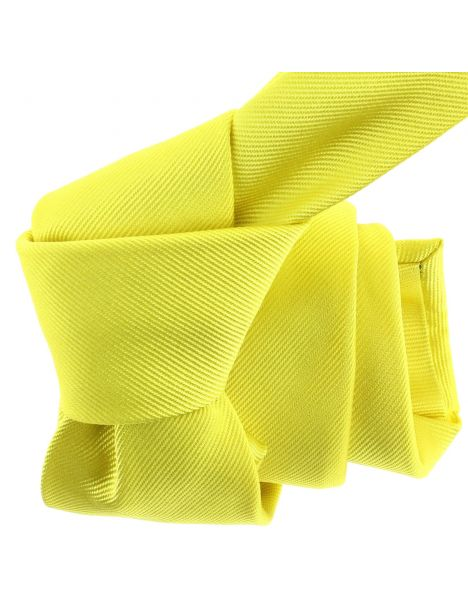 Cravate luxe faite à la main, jaune Citron Tony & Paul Cravates