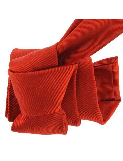 Cravate luxe faite à la main, Rouge Geraneo Tony & Paul Cravates
