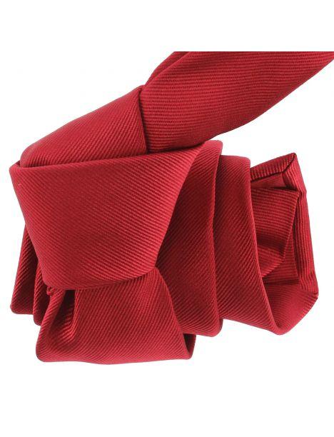 Cravate luxe faite à la main, Rouge Sangue Tony & Paul Cravates
