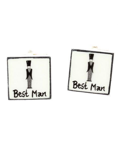 Boutons de manchette, Best Man Sonia Spencer Bouton de manchette