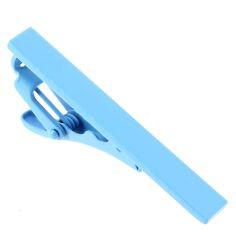 Pince à cravate bleu ciel Phoenix Clj Charles Le Jeune Pinces à cravates