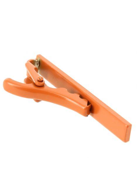 Pince à cravate orange Phoenix