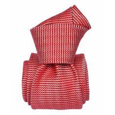 Cravate Soie Segni Disegni, Amsterdam Rouge Segni et Disegni Cravates