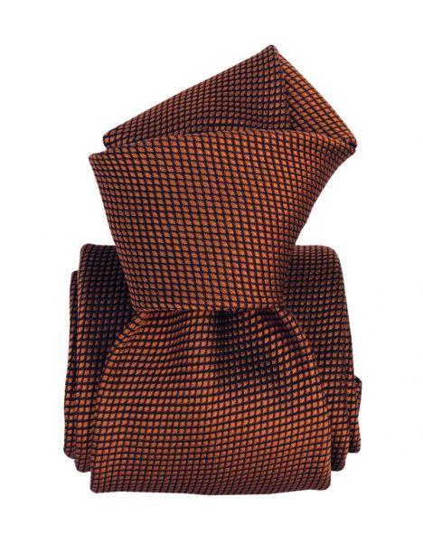 Cravate Soie Segni Disegni, Bergen cuivre Segni et Disegni Cravates
