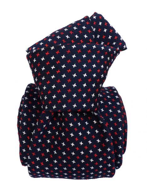 Cravate Soie Segni Disegni, Oslo Marine Segni et Disegni Cravates
