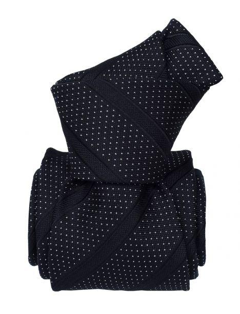 Cravate Soie Segni Disegni, Olden marine Segni et Disegni Cravates