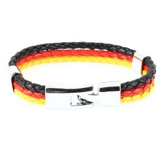 Bracelet tressé Allemagne Clj Charles Le Jeune Bracelets Homme