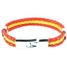 Bracelet tressé viva España Clj Charles Le Jeune Bracelets Homme