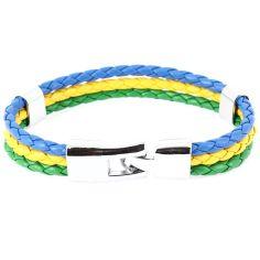 Bracelet tressé Brésil Clj Charles Le Jeune Bracelets Homme