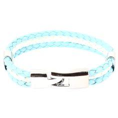 Bracelet tressé Argentine Clj Charles Le Jeune Bracelets Homme