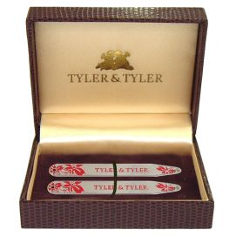 Baleines de col, Tyler & Tyler, Vine collar Stiffener, Red Enamal, BOXED
