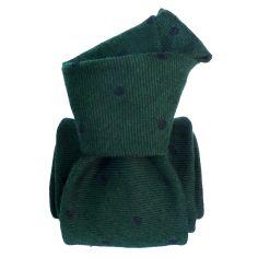 Cravate en laine et soie, Catane Vert