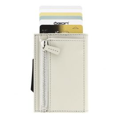 Porte carte Aluminium et cuir, Cascade Zipper Wallet, Ogon Designs, Blaster Ogon Designs Petite Maroquinerie