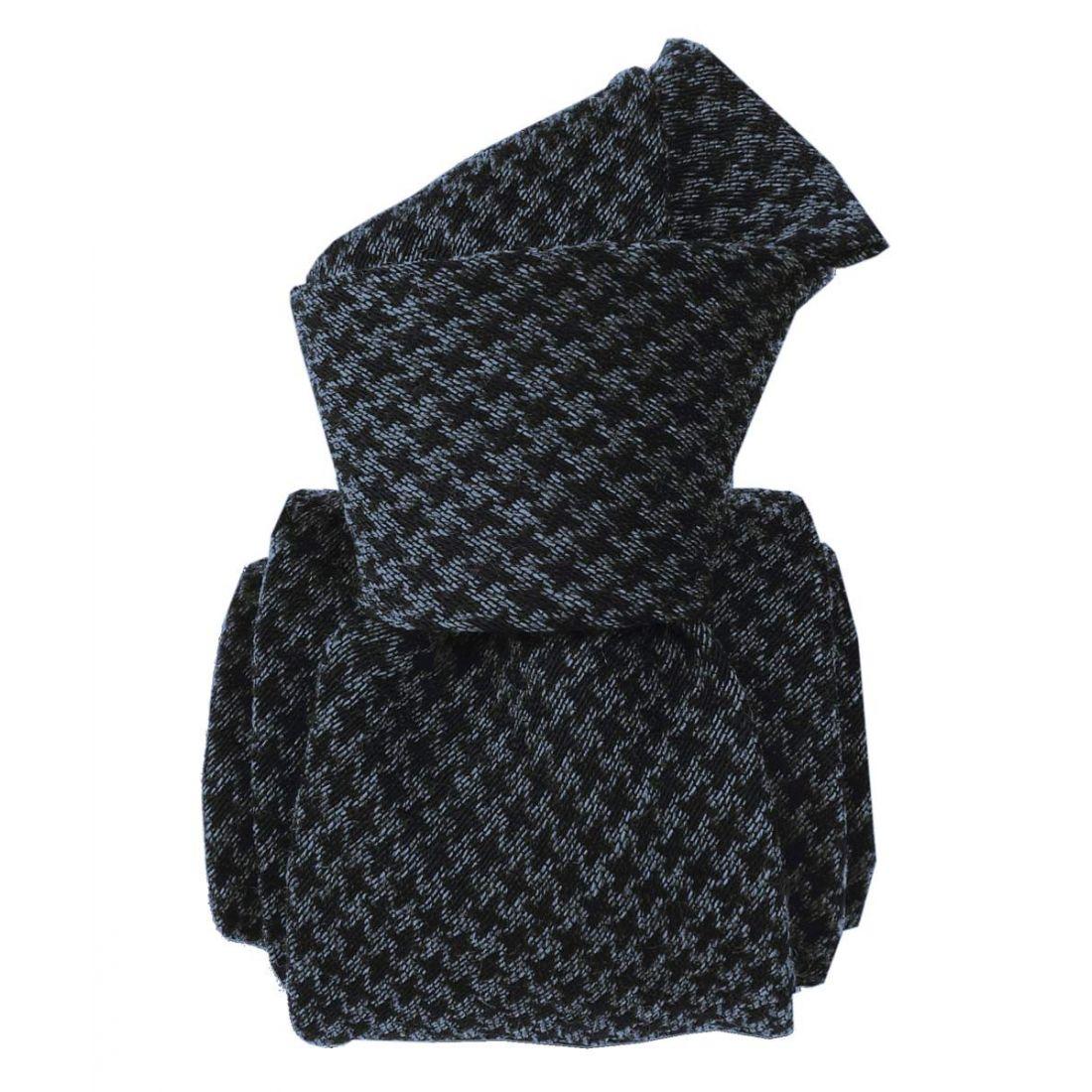 Cravate en laine et soie, Toscane Gris et noir Segni et Disegni Cravates.  Loading zoom 01f7b254338