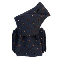 Cravate en laine et soie, Sardaigne Bleu Segni et Disegni Cravates
