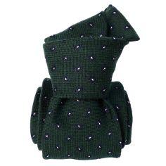 Cravate en laine et soie, Sardaigne Vert