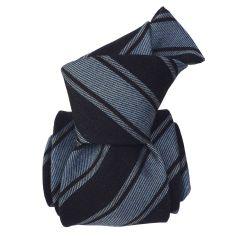 Cravate en laine et soie, Basilicata Bleu ciel Segni et Disegni Cravates