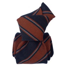 Cravate en laine et soie, Basilicata Cuivre Segni et Disegni Cravates