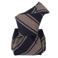 Cravate en laine et soie, Basilicata Lin Segni et Disegni Cravates