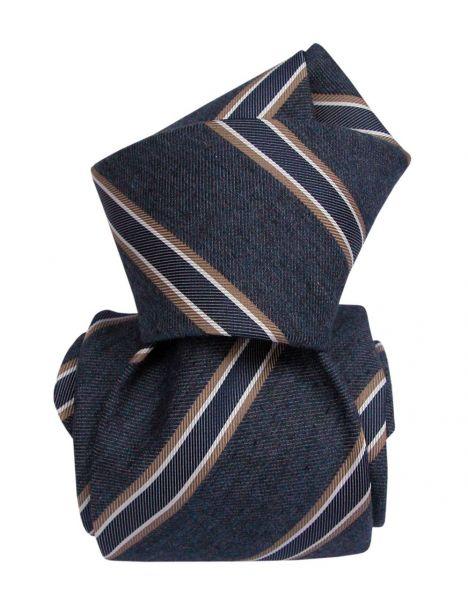 Cravate Segni Disegni LUXE, Faite main, MOGADOR, Angel Bleu Segni et Disegni Cravates