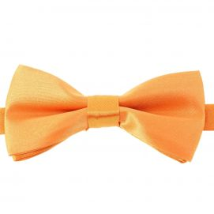 Noeud papillon enfant, Orange