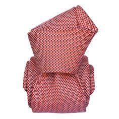 Cravate Segni Disegni LUXE, Faite main, Udine rouge