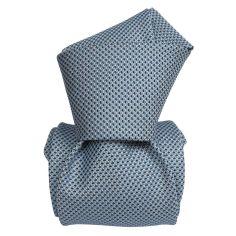 Cravate Segni Disegni LUXE, Faite main, Udine Bleu