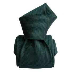 Cravate Segni Disegni LUXE, Faite main, Trévise Vert