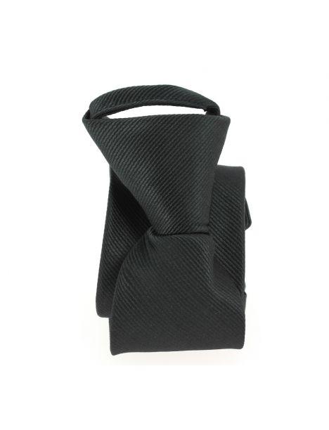 Cravate enfant, Petit Dandy slim noir Pomme Carré Cravates
