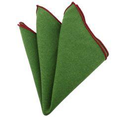 Pochette Brighton coton vert olive