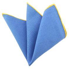 Pochette Brighton coton bleu opaline