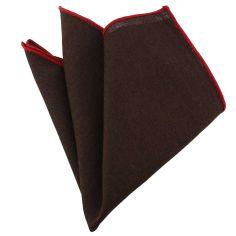 Pochette Brighton coton chocolat